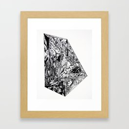 Selected Poems Framed Art Print