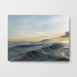 Velvet Sea Metal Print