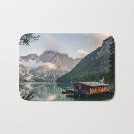 Mountain Lake Cabin Retreat Bath Mat