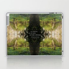 A Dream Within A Dream Laptop & iPad Skin