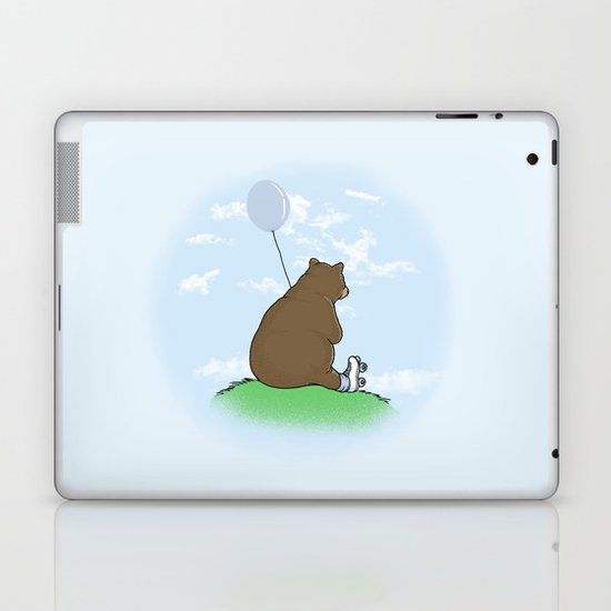 Cloudy the Bear Laptop & iPad Skin