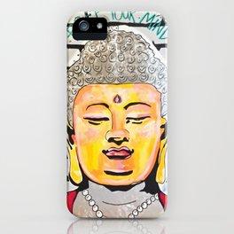 Good Karma Buddha iPhone Case