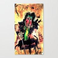 oscar wilde Canvas Prints featuring Oscar Wilde by Shane R. Murphy