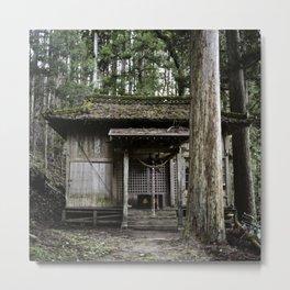 Toho forest shrine Metal Print
