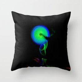 AROUND WE GO Throw Pillow