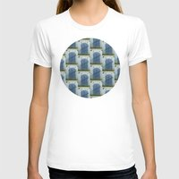 doors T-shirts featuring Closed Doors by Phil Perkins