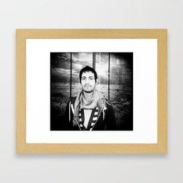 NYC holga portraits 2 Framed Art Print