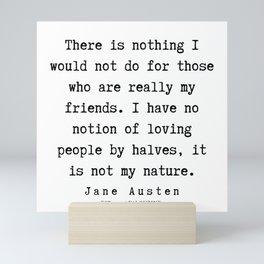 2    | Jane Austen Quotes | 190722 Mini Art Print