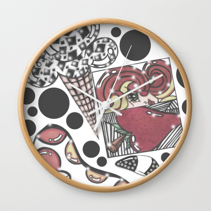 Disco Fresh Wall Clock