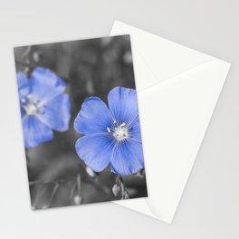 Gentle Blue Flower Stationery Cards