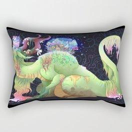 Swamp Dragon Rectangular Pillow