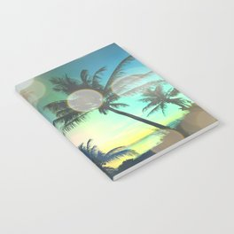Summer Dreams : Pastel Palm Trees Notebook