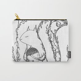 Squirrel in the woods Carry-All Pouch