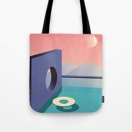 Calm pool  Tote Bag