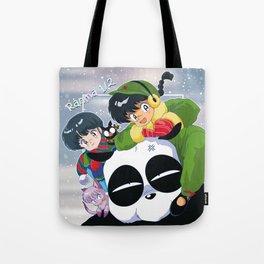 Ranma 1/2 Winter Edition Tote Bag