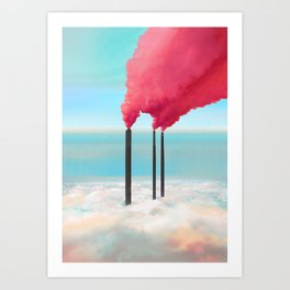 Save the Environment Art Print
