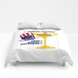 Try a Yankee Doodle cocktail Comforters