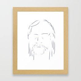 Face 3 Framed Art Print