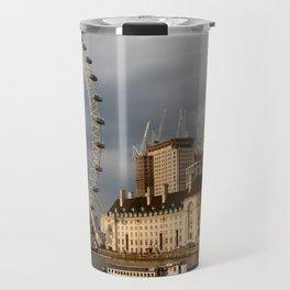 The London Eye On The South Bank Travel Mug