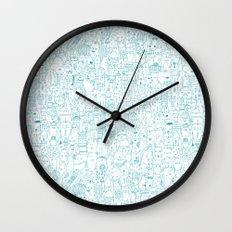The farmer Wall Clock