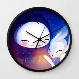 Ori and Naru  Wall Clock