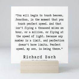 46  | Richard Bach Quotes | 190916 Mini Art Print