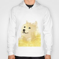 doge Hoodies featuring Doge by EtOfficina