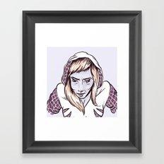 SpiderGwen Framed Art Print
