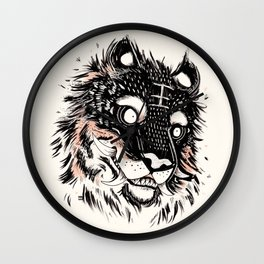 Tiger Power Wall Clock