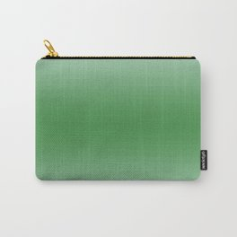 Pastel Green to Green Horizontal Bilinear Gradient Carry-All Pouch
