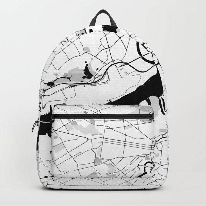 Philadelphia Minimal Map Backpack