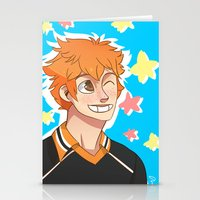 haikyuu Stationery Cards featuring Hinata Haikyuu!! by Dreki