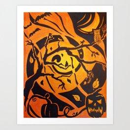 Fantastic Fall Art Print