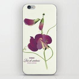 Pea- Pisello Odoroso iPhone Skin