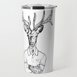 bambi's a grown up now  Black Travel Mug