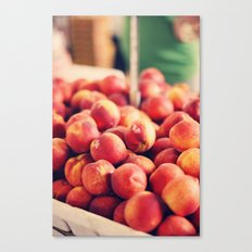 Each peach, pear, plum Canvas Print