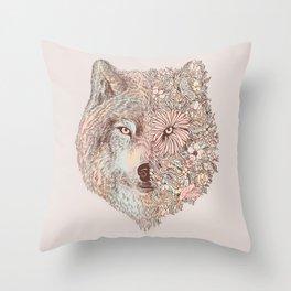 A Wild Life Throw Pillow