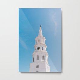Charleston Steeple VI Metal Print
