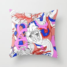 Musical Heart Throw Pillow