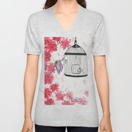 Can't cage magic Unisex V-Neck