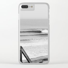Wave of the day, Bells Beach, Victoria, Australia Clear iPhone Case