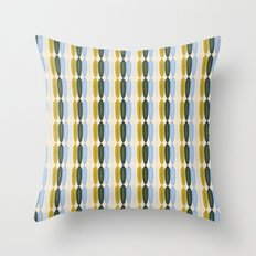 Fe-feathers Throw Pillow