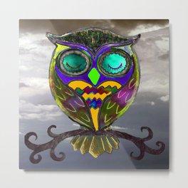 Brighid Owl Metal Print