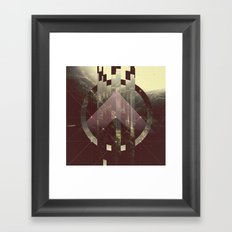 FAGMENTED SOUL Framed Art Print