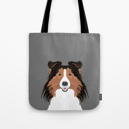 Jordan - Shetland Sheep Dog gifts for sheltie owners and dog people gift ideas perfect dog gifts Tote Bag