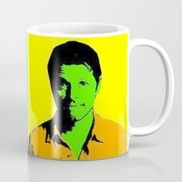 Misha Collins Pop Art Coffee Mug