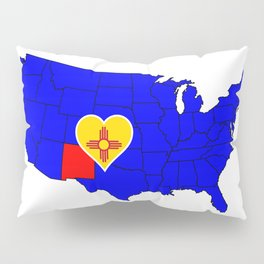 State of New Mexico Pillow Sham