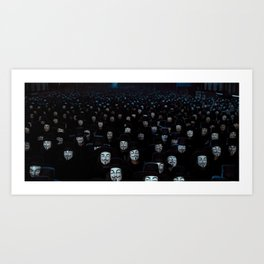 Ideas Are Bulletproof Art Print