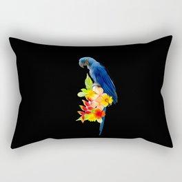 arara azul Rectangular Pillow