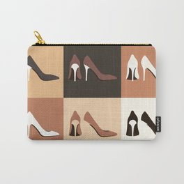 heel shoes-ıv Carry-All Pouch